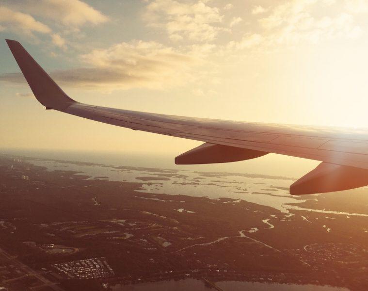 foto ala avion