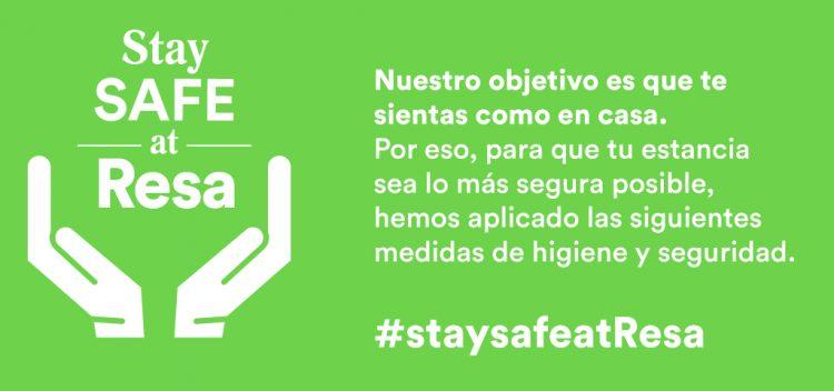 Stay safe Resa