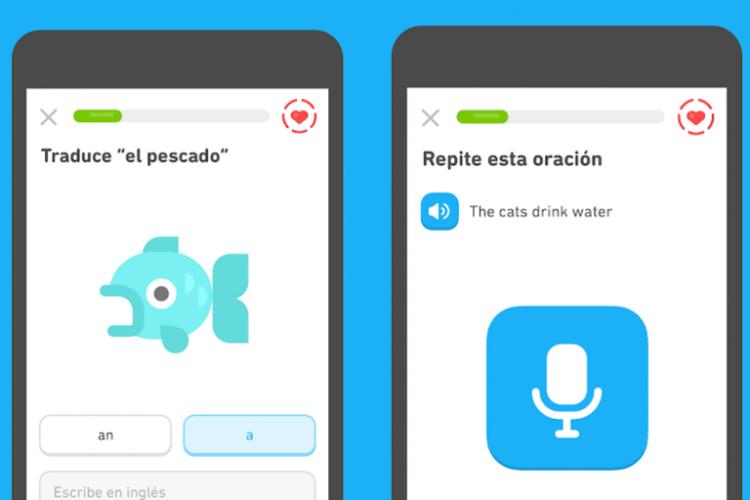 App duolingo aprender inglés