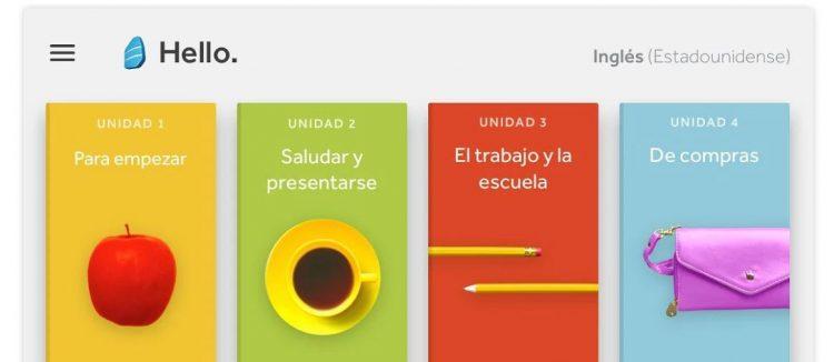 Rosetta Stone App